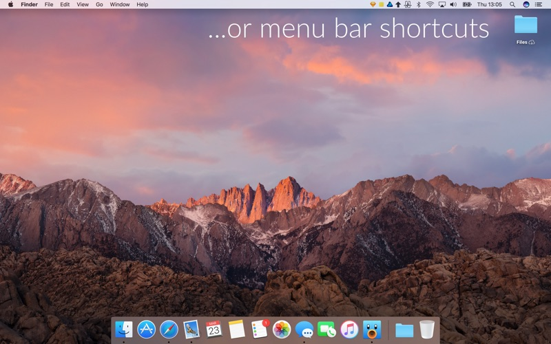 Launchey: menubar app launcher Screenshots