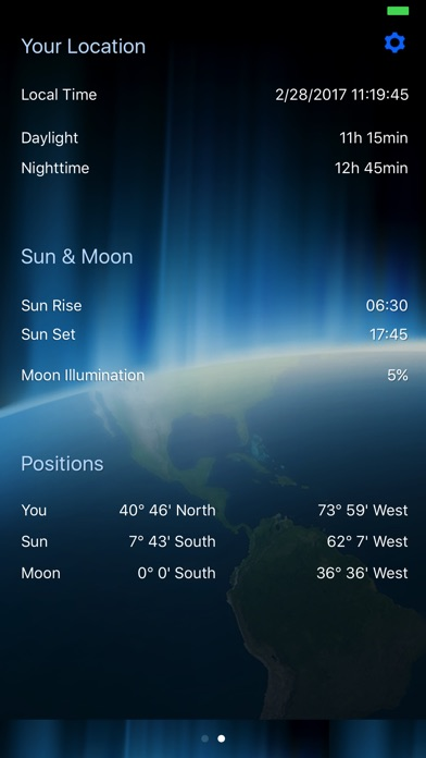 Day night world map on the app store iphone screenshot 2 gumiabroncs Choice Image