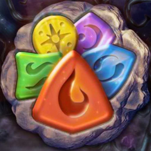 Runes Of The Ancient Forest — Matching Game iOS App
