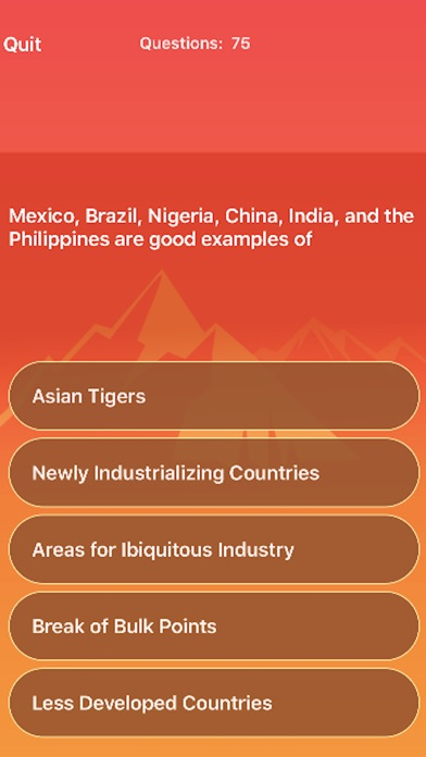 Screenshot for iScore5-APHG in United States App Store