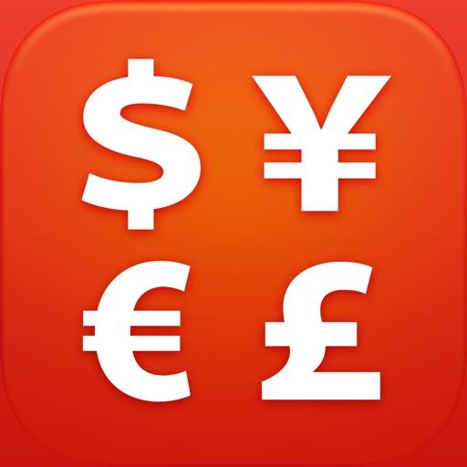 iMoney HD · 全球汇率转换