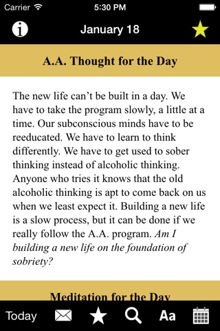Twenty-Four Hours a Day: Recovery Meditations screenshot 2