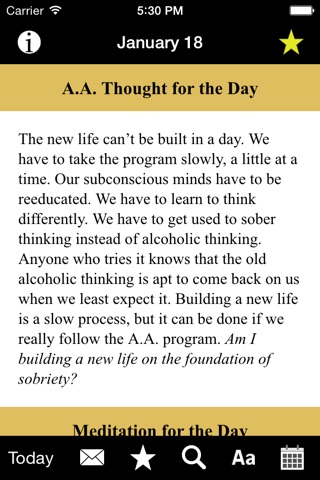 Twenty-Four Hours a Day: Recovery Meditations screenshot 2