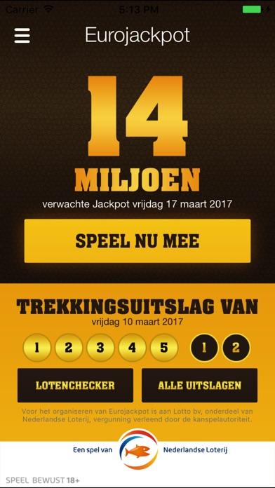 Download Eurojackpot NL App