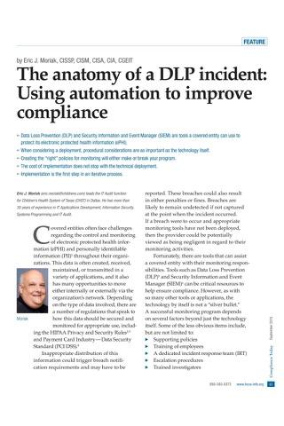 HCCA Compliance Today Magazine screenshot 3