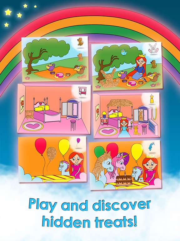 Screenshot #3 for Princess Games for Girls Games Unicorn Kids Puzzle
