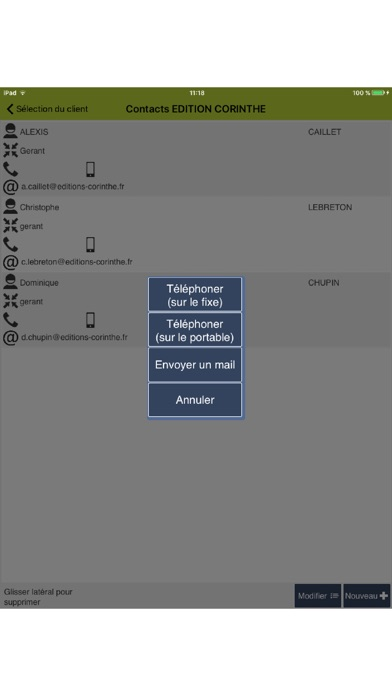 Capture d'écran de FlexiTempo3