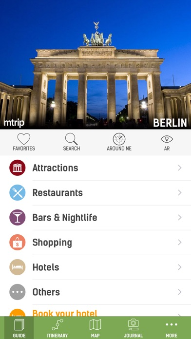 Berlin Travel Guide - mTrip Screenshot 1