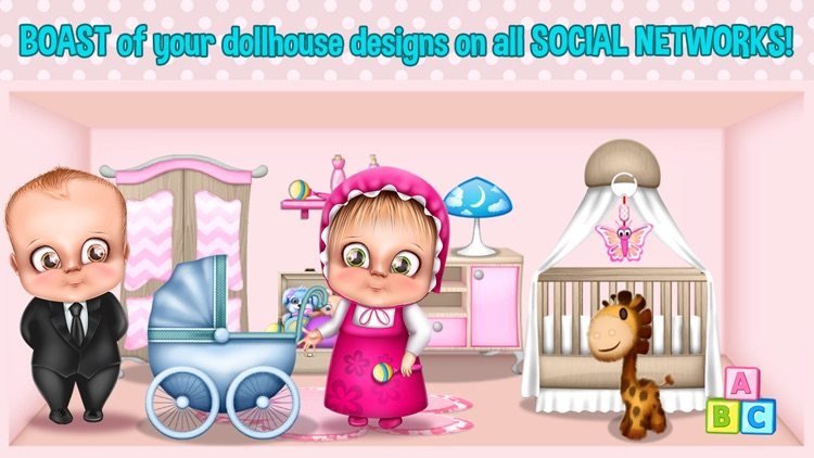 Baby Doll Games For Girls House Decoration Screenshot 3