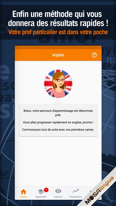 download MosaLingua Apprendre l'Anglais apps 1