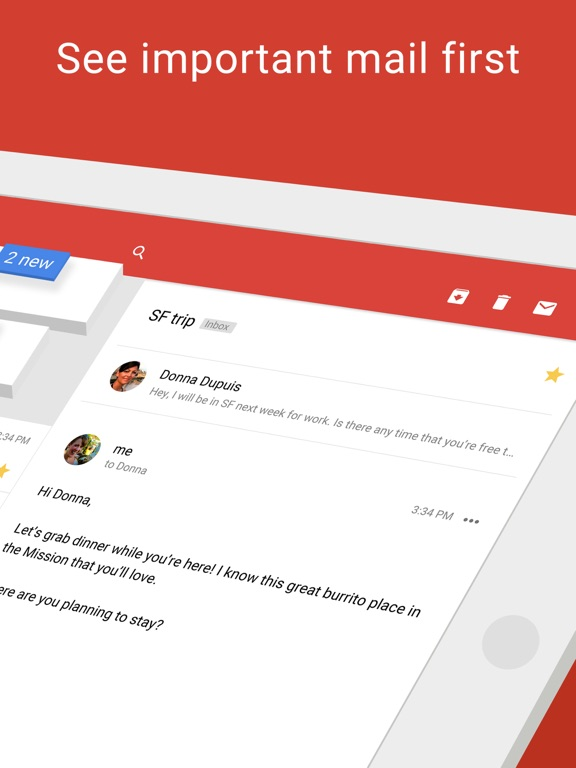 Gmail - Email by Google iPad
