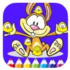 Bunny And Chicken Coloring Book Game For Kids electronic book format