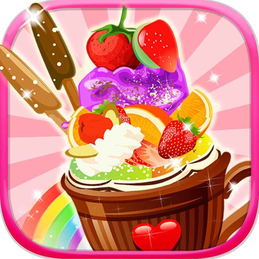 Ice cream decoration kid games by free game