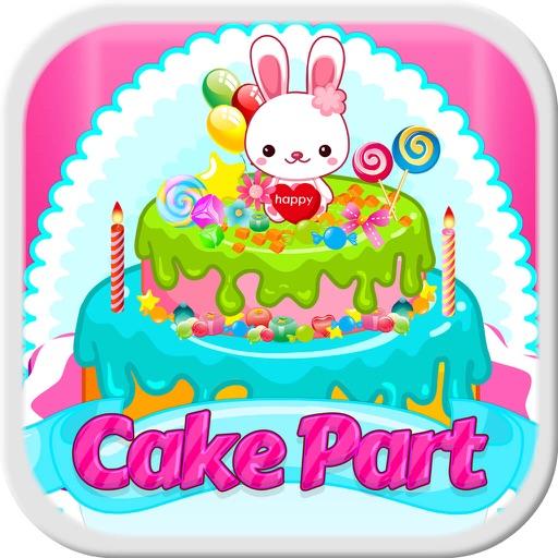Wedding & Birthday Cake Decoration - Fun Girl Game Icon