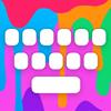 RainbowKey - Farbige Tastatur Themes, Schriftarten