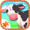 Anothai Luadee - Farm Animal For Kids Sliding Jigsaw Puzzle  artwork