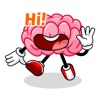 Brain Emojis Share Your Feelings Emoticon Stickers