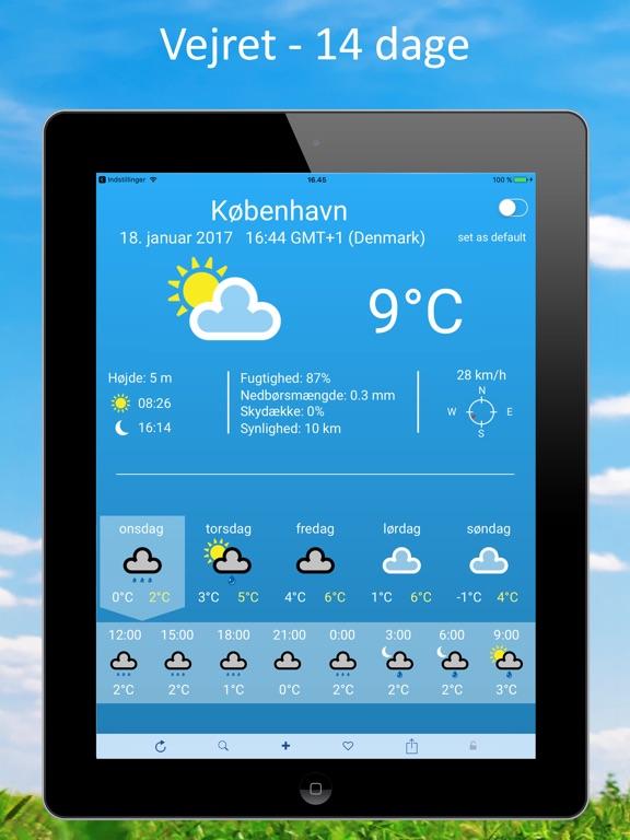 Vejret i norge de næste 14 dage