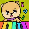 Piano para niños y chicas - juegos de bebés gratis
