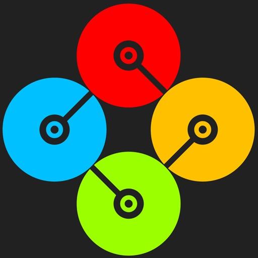 圆点争夺战:Centrifeud【4人同机对战】