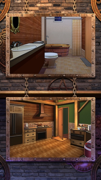 room escape story 9 haunted house doors rooms by weiwei huang