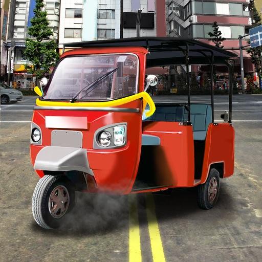 Driver Moto Rikshaw Simulator iOS App