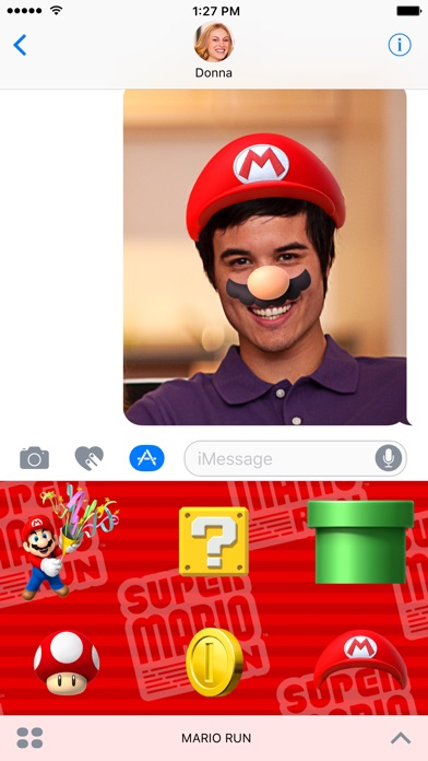 Super Mario Run StickersСкриншоты 3