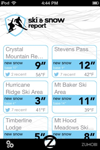 Ski and Snow Report screenshot 1