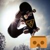 VR Skateboard - Ski with Google Cardboard google