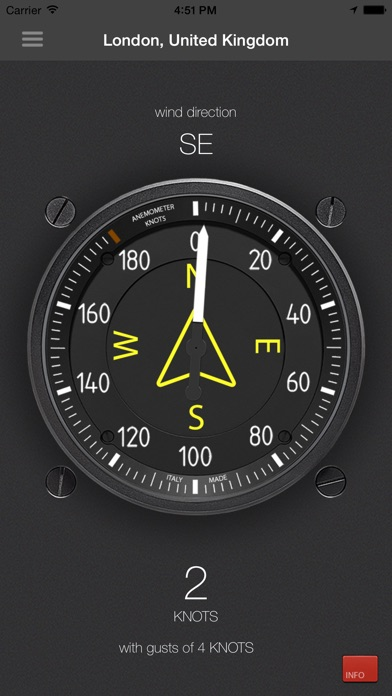 Anemometer - Wind speed Screenshot