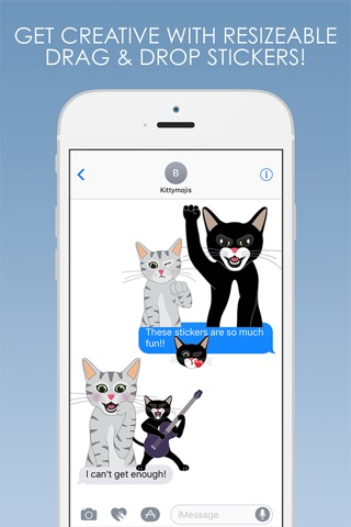 KittyMojis - Kitty Emojis and Stickers screenshot 3