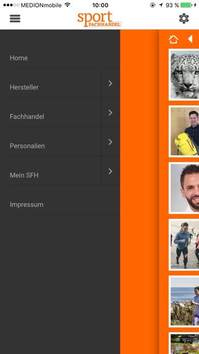 sportFACHHANDEL screenshot