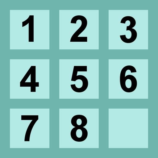 Slide Numbers Puzzle iOS App