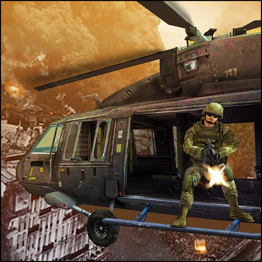 Air Shooter Gunship 3D iOS App