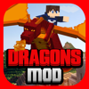 DRAGONS MOD for Minecraft Game PC Edition