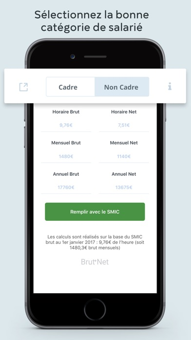 calcul salaire brut net 2017 on the app store