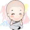 Sticker Cute Little Monks di The Swing
