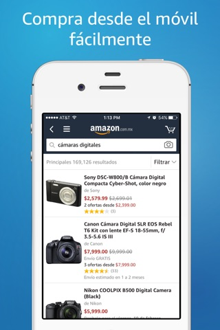 Amazon – Shopping made easy screenshot 1