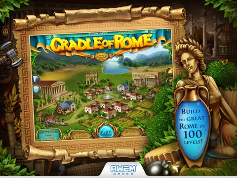 Cradle of Rome (HD) на iPad