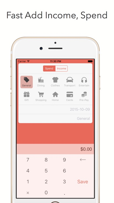 Hipo - Track your expenses Screenshots