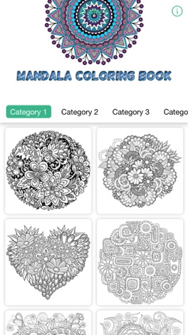 Download Mandala Coloring Book Therapy Games For Adults For IPhone