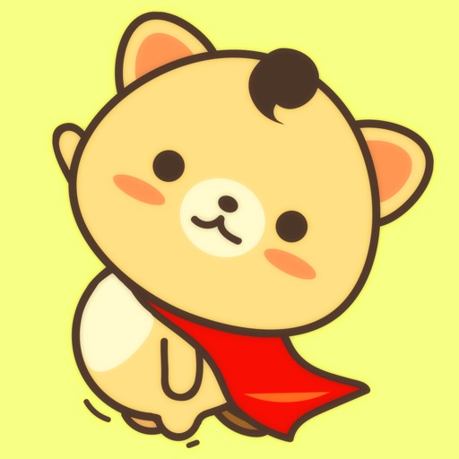 Peanut Dog StickerCute Emoji