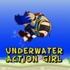 Underwater Action Girl