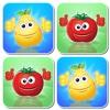 Owoce i Warzywa : Edukacyjne Gry Memo dla Dzieci