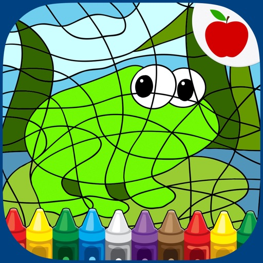 Color By Number Coloring Games iOS App