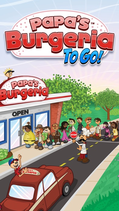 Papa's Burgeria To Go! Screenshot
