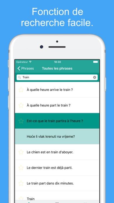 Apprendre Le Croate - Mots Et Phrases De VoyageCapture d'écran de 5