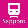 Sapporo Rail Map