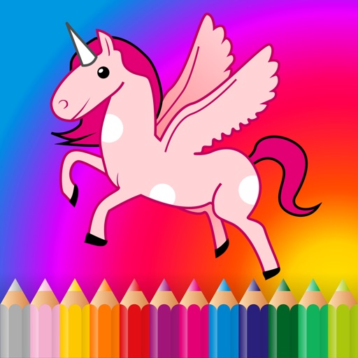Coloring book - games for kids, boys & girls App Ranking & Review