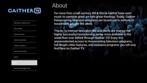 Screenshot #9 for GaitherTV